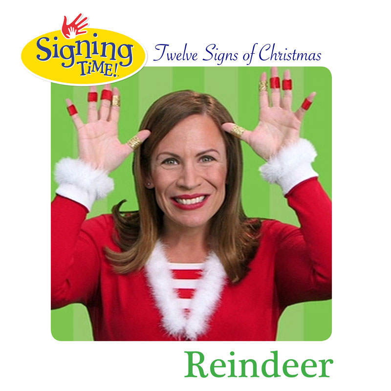 Signing Time: Twelve Signs of Christmas! Day 8