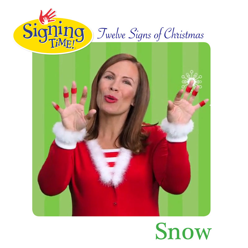 Signing Time Twelve Signs of Christmas! Day 10